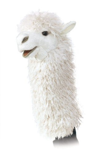 Folkmanis Alpaca Stage Puppet by Folkmanis