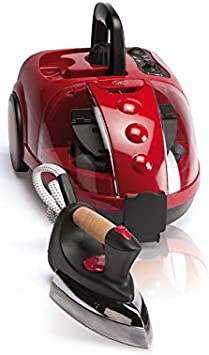 JRD VAPORETA Vapor Multi V-Clean 1500W con 16 Accesorios DE Limpieza con Plancha 800W, Color Rojo, Red, 1: Amazon.es: Hogar