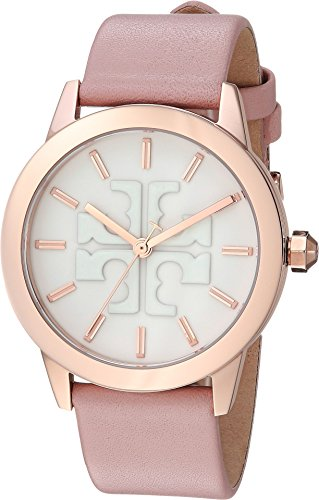 Pink Watch Leather (Tory Burch Women's Gigi - TBW2009 Pink One Size)