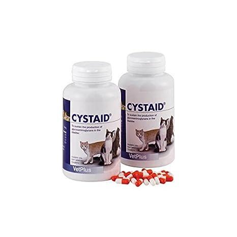 Cystaid feline complemento nutricional para gatos 240 capsulas: Amazon.es: Productos para mascotas