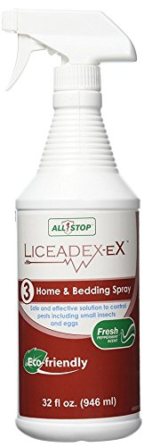 Liceadex-eX Home & Bedding Spray :: Complete Lice Removal Home, Bedding, Clothing and more- All natural, organic, and safe - 32 oz value size