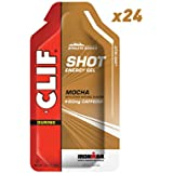 CLIF SHOT - Energy Gel - Mocha - With Caffeine (1.2 Ounce Packet, 24 Count)