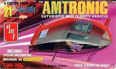 AMT Amtronic Car of the Future 1/25 Scale Model Kit