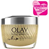 Whip Light Face Moisturizer by Olay Total Effects, Anti Aging Face Cream, SPF 25 for Even Skin Tone with Vitamins C, E, B3 & B5, 1.7 Oz