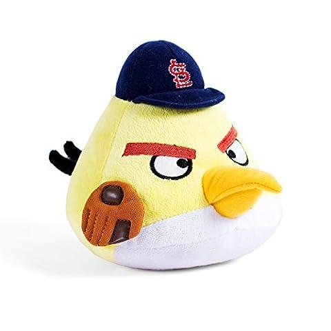MLB St. Louis Cardinals Angry Bird Plush Toy, Small, Yellow - Louis Cardinals Fiber
