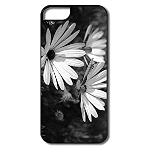 IPhone 5S Cases, Flower Black White White/black Cover For IPhone 5/5S