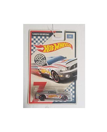 Hot Wheels 15 Shelby GT 500 Super Snake Racing Circuit