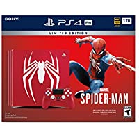 Sony PlayStation 4 Pro 1TB Marvel's Spider-Man Limited Edition Console