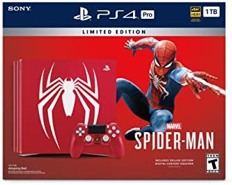 Sony PS4 Pro 1TB Marvel's Spider-Man Limited Edition Console