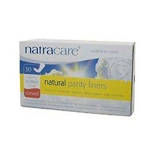 (4 PACK) - Natracare Natural Panty Liners Curved | 30s | 4 PACK - SUPER SAVER - SAVE MONEY