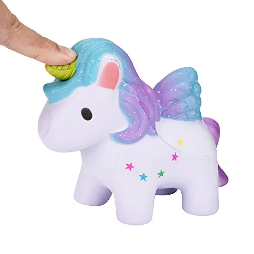 Truck Stress Reliever (Stress Reliever Toy, Rumas Dreamlike Unicorn Scented Squishy Slow Rising Squeeze Rainbow Horse Toys Collection)