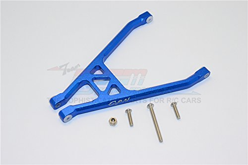 Axial Yeti Jr. SCORE Trophy Truck (AX90052) Upgrade Parts Aluminum Rear Axle Support A Frame - 5Pc Set Blue