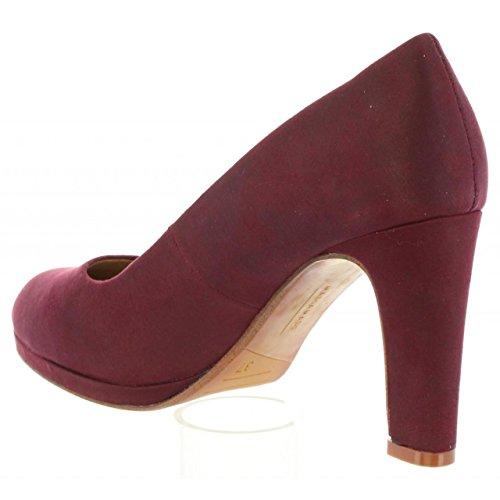 Femmes Chaussures Doux À De Mare Maria Talons De C27735 61891 Burdeos qEdPf6Rw