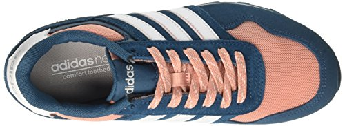 adidas 10k W, Chaussures de Running Femme Rose (Petrol Night/footwear White/trace Pink)
