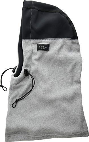 Bula Unisex Power Fleece Hood Heather Medium Grey One Size