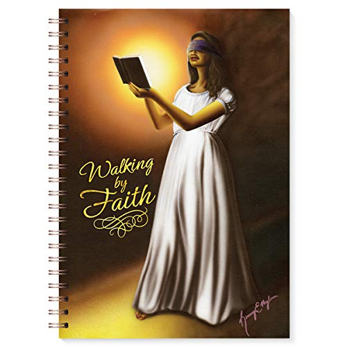 """Health & Personal Care : African American Expressions - Walking By Faith Journal (128 pages, 6.25"""" x 8.5"""") J-170"""