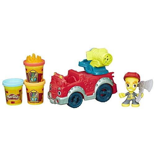 [Play-Doh Town Fire Truck] (Flame Hair Costume)
