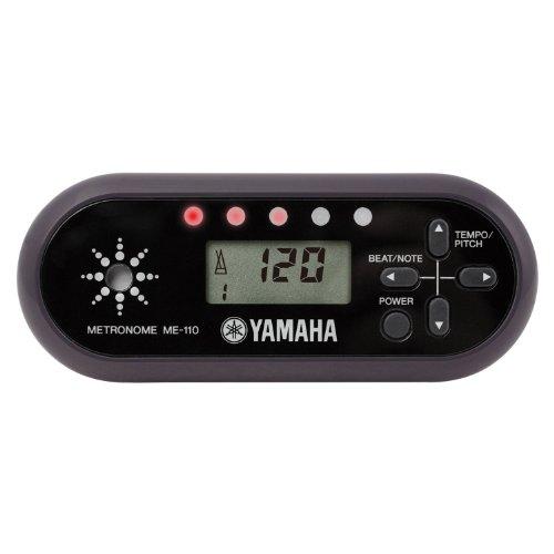 야마하 YAMAHA 디지탈 메트로놈 블랙 ME-110BK