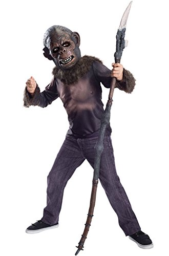 [Mememall Fashion Planet of the Apes Koba Child Costume] (Planet Of The Apes Costumes)