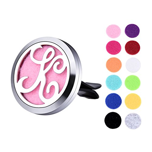 VALYRIA Monogram K Car Air Freshener Aromatherapy Essential