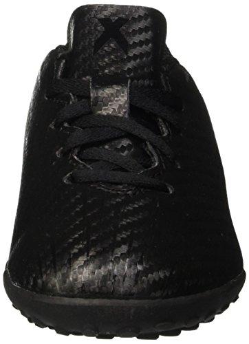 adidas Jungen X 16.4 TF J Fußballschuhe Nero (Core Black/Dark Grey)