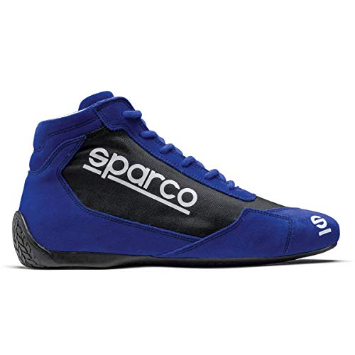 Sparco Slalom US Racing Shoes 001266 (Size: 43, Blue/Black)