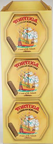 Tortuga Caribbean Golden Original Rum Cake, 4-Ounce Boxes (Pack of 6)