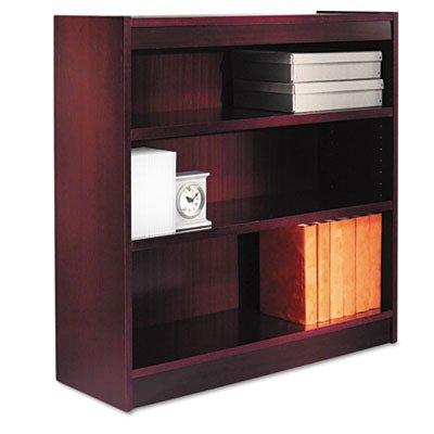 (ALEBCS33636MY - Best Square Corner Wood Veneer Bookcase)