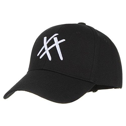 Amazon.com : ALWLj Embroidery Snapback Women Men Hip Hop Hat Bone Gorras Cotton Baseball Cap Summer Hats Sun hat Black : Sports & Outdoors