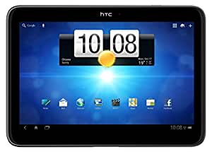 """HTC Jetstream P715a 16GB 10.1 Inch Unlocked 4G + Wi-Fi Tablet PC with Android 3.1 OS, Dual-Core Processor, 10.1"""" LCD Multi-Touchscreen, 8MP Camera + Secondary 1.3MP Camera, Video, GPS, Wi-Fi, Bluetooth, SNS Integration, Google Apps and MP3 Player - Black"""