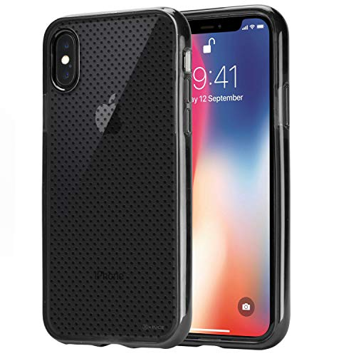 XEUCE iPhone XR Slim Fit Case (Smoky Black) Scratch-Resistant Protective Case (Part# PC13-IXR-BLA)