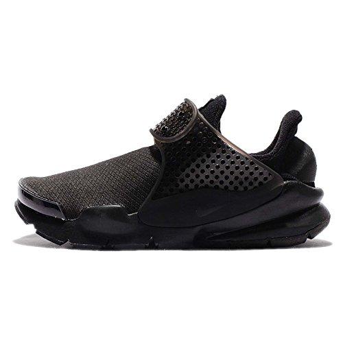 (Nike Womens Sock Dart SE Running Trainers 862412 Sneakers Shoes (US 8, Black Black Volt)