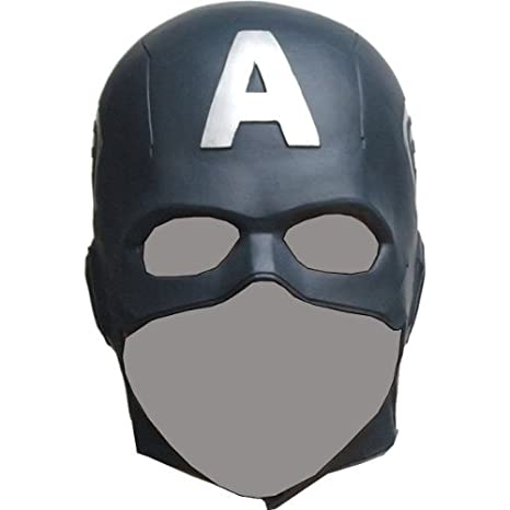 captain america the avengers mask rubber party mask full face head costume by ogawa studio - Masque Captain America
