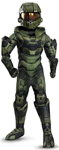 Master Chief Prestige Costume, Medium (7-8) ()