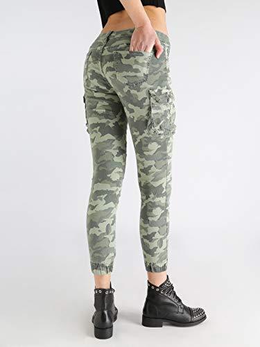 DENIM T mimetici Pantaloni COLLECTION con Milit tasconi 4RqBSwp