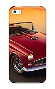 Fashion Tpu Case For Iphone 5/5s- Classic Cabrio American Car Red Cars Other Defender Case Cover