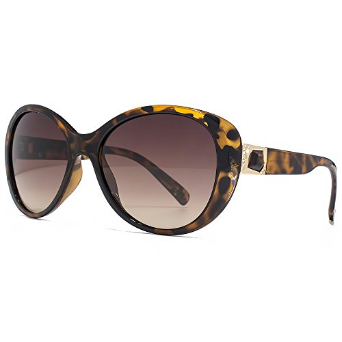 Guess Lunettes de soleil Temple Diamante en tortue - GU7313TO-3457 GU7313  S57 57 Marron ... ce32cd7e95bc