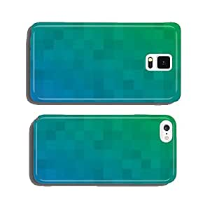 blue green abstract background cell phone cover case iPhone5
