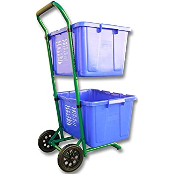 Amazon Com Recycle Cart For Recycle Bins Robust Recycle