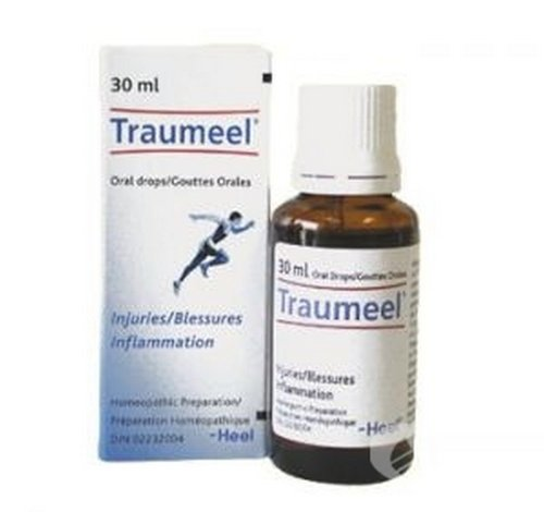 Traumeel S Gel Tabs Drops - Homeopathic Anti-Inflammatory Pain Relief Analgesic (Oral Drops30ml)