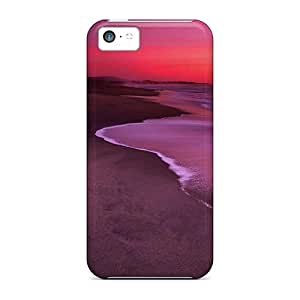 Hot New Dunes Beach Half Moon Bay California Case Cover For Iphone 5c With Perfect Design