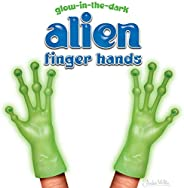 Accoutrements Alien Finger Hands Glow in The Dark 2 Piece Set