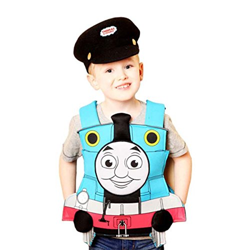 Childs Boys Official Thomas The Tank Engine Train Fancy Dress Party Costume (Thomas The Tank Engine Costume)