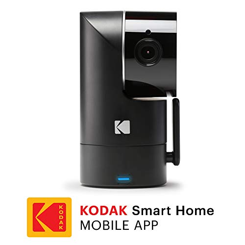 (KODAK Cherish F685 Home Security Camera with Mobile App - Full-HD Wireless Security Camera System with Infrared Night-Vision, Battery, Tilt, Pan, Zoom & 120deg View - Surveillance Camera, WiFi Camera)