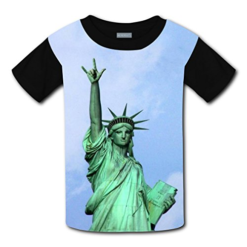 T-shirts Tee Shirt for Kids Tops Costume Funny Rock Statue of Liberty (Statue Of Liberty Costume Ideas)
