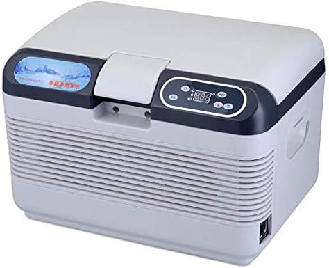 ZWH-ZWH 12Lデジタルディスプレイ、デュアルコアマイクロ温カー冷蔵庫エレクトリッククーラーとウォーマー車のためのホームH15.74 * W11.22 * D11.22インチ 車載用冷蔵庫
