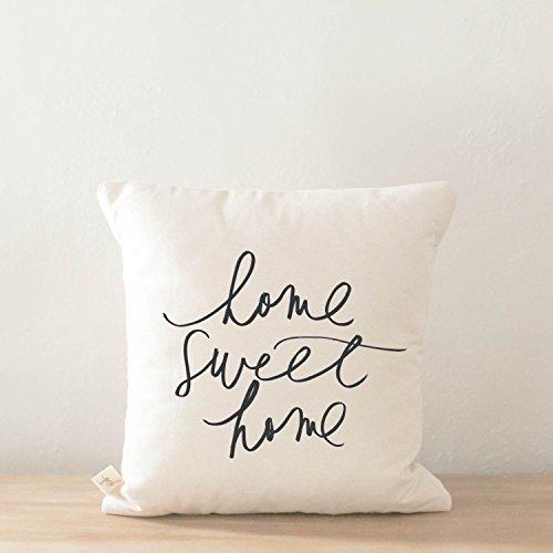 Pillow Cover - Home Sweet Home, home decor, present, housewarming gift, cushion cover, throw pillow, cushion, pillow case