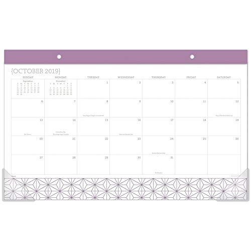 Mead 2020 Desk Calendar, Desk Pad, 17