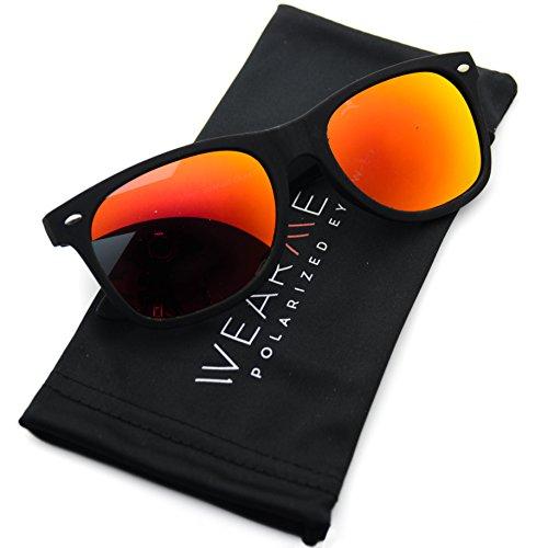 Premium Polarized Wayfarer Mirrored Sunglasses product image
