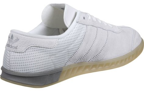 Adidas silver Hamburg Vintage Scarpa White Tech w1zw7qT